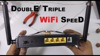 FREE DOUBLE TRIPLE YOUR WIFI INTERNET SPEED