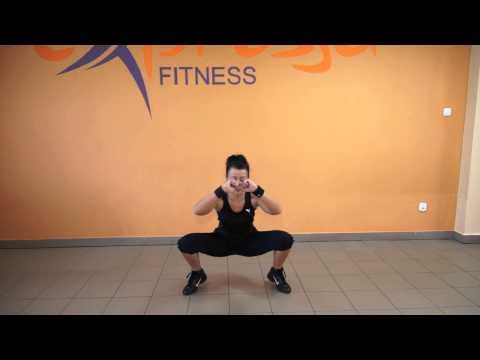 Trening na pośladki i na nogi