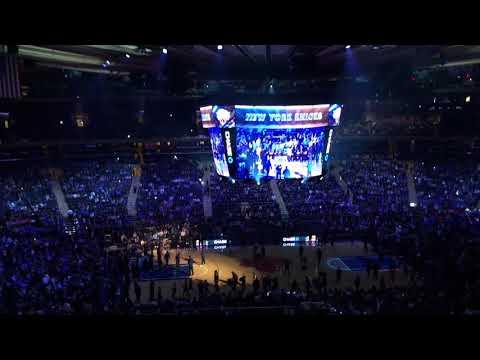 New York Knicks 2017-2018 Home Opener Intro (vs. Detroit Pistons)
