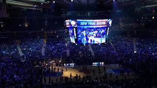 New York Knicks 2017-2018 Home Opener Intro (vs. Detroit Pistons)