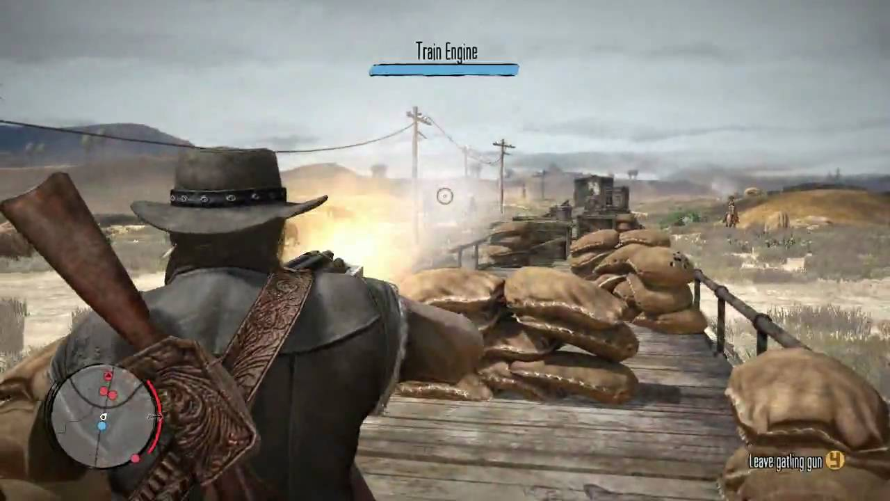 Red Dead Redemption Gameplay Video Series: Weapons & Death