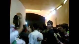 Iran Tehran 11 October 2011 Protests during a football match in Azadi Stadium