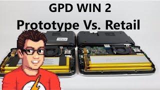 GPD Win 2 - Prototype Vs. Retail Comparison