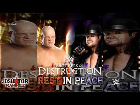 WWE: Rest In Peace (Brothers of Destruction) by Jim Johnston - DL, Custom Cover