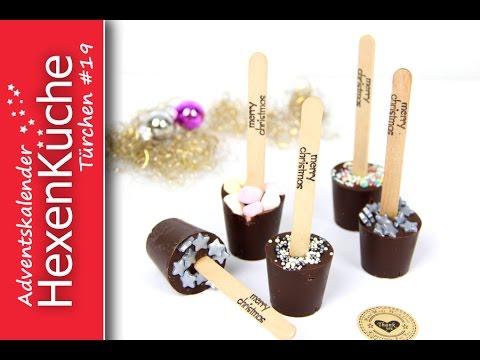 Trinkschokolade Am Stiel Selber Machen Und Verpacken Thermomix Diy