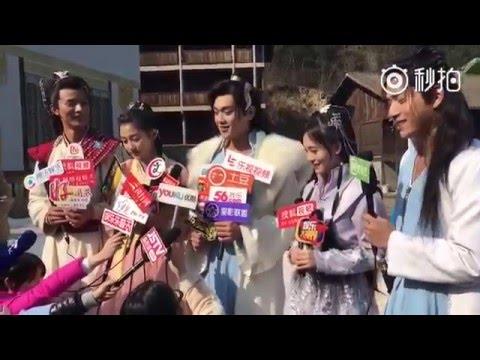 SNH48 Kiku (鞠婧祎) - Novoland Cast Interview