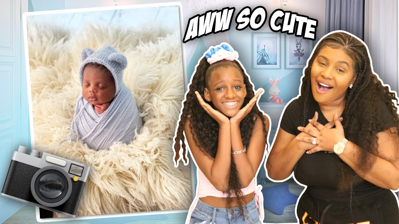 Baby Bryson's First Photoshoot!! Behind The Scenes (So Adorable)