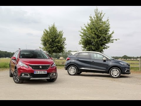comparatif renault captur vs peugeot 2008 duel au sommet youtube. Black Bedroom Furniture Sets. Home Design Ideas