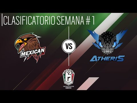 MXR6 - Clasificatorio - Semana 1 - Mexican Gaming Vs. Atheris