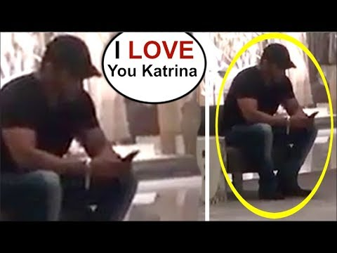 Salman Khan MESSAGING Katrina Kaif After Missing Her During Her Birthday