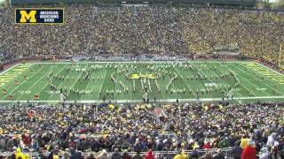 """Earth, Wind and Fire"" - October 17th, 2015 - The Michigan Marching Band"