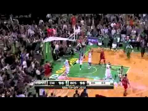 2010 11 NBA season   Chicago Bulls vs  Boston Celtics Recap