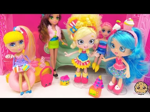 Party With Cutie Pop Petites Doll And Shopkins Season 3 Blind Bag Surprise Toy Unboxing