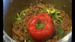 """"""" QEEMA SHIMLA MIRACH & QEEMA BHARI SHIMLA MIRACH """" Bajias Cooking"""