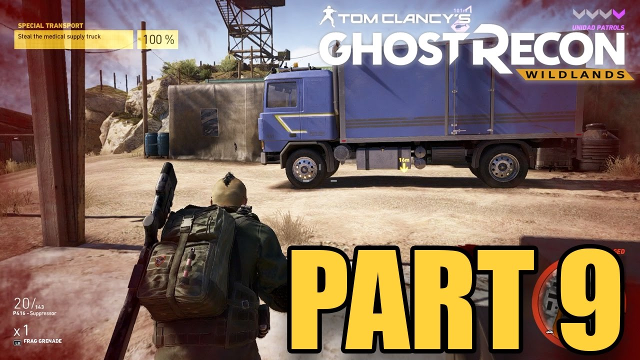 Ghost Recon Wildlands: Steal the Medical Truck