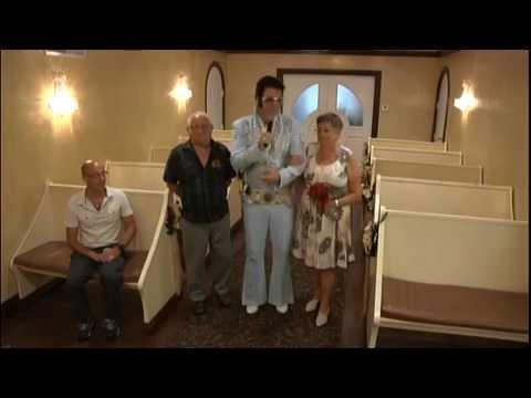 mariage de raymonde et paul marchand las vegas en 2012 graceland wedding chapel youtube - Renouvellement Voeux Mariage Las Vegas
