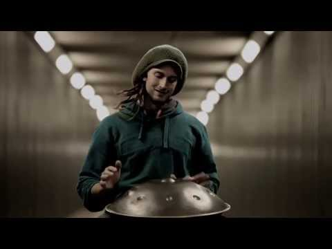 Daniel Waples - Solo Hang Drum in a London Tunnel  [HD]