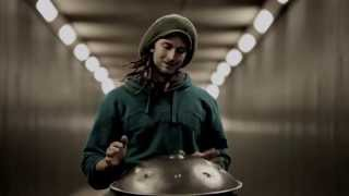 Solo Hang Drum in a Tunnel | Daniel Waples - Hang in Balance | London - England [HD] thumbnail