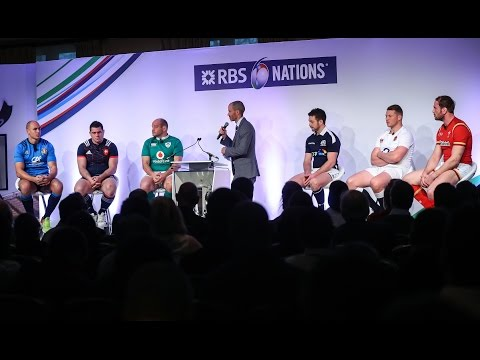 The Captains' Q&A - 2017 Launch | RBS 6 Nations