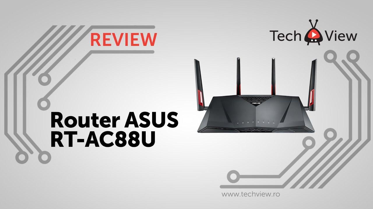 Router ASUS RT-AC88U - TechView ro