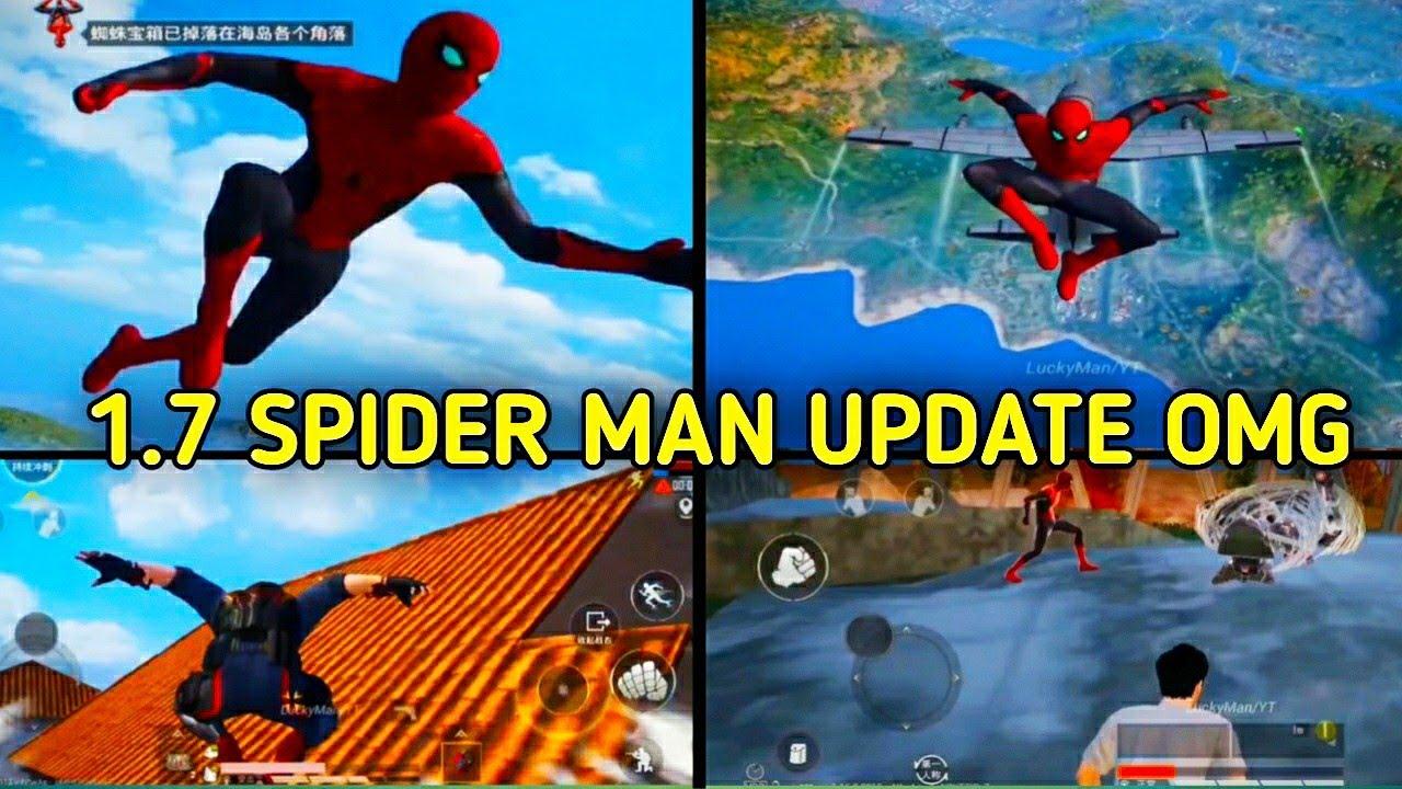 BGMI 1.7 Spider-Man Update is Here   M5 Royal Paas Rewards   Bgmi & Pubg New Update 1.7