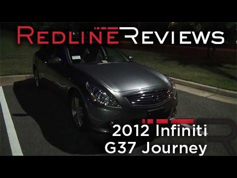 2012 Infiniti G37 Journey Review, Walkaround, Exhaust, Night Drive