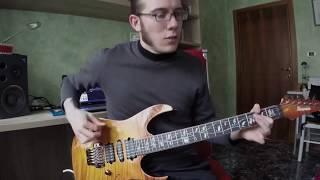 IBANEZ J. CUSTOM RG8570Z-BBE (Guitar Demo)