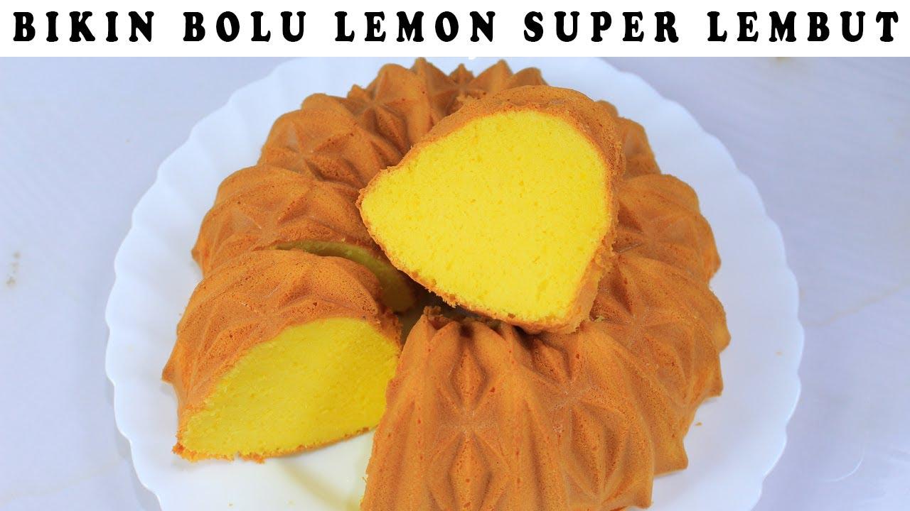 BOLU LEMON SUPER LEMBUT ENAK BANGET!!!