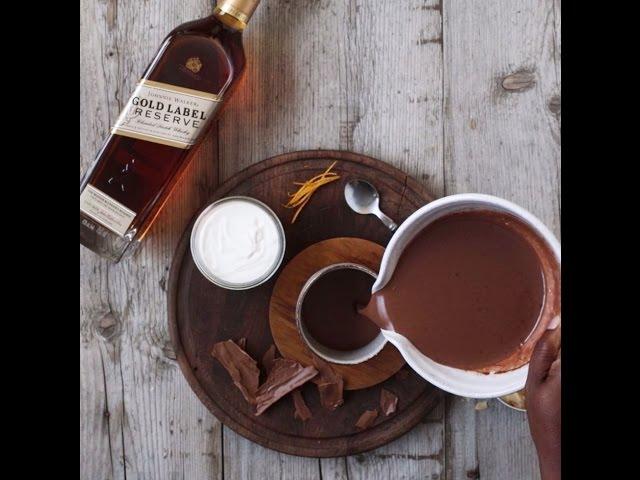 Spiked Orange Hot Chocolate