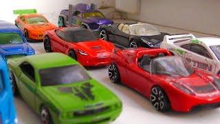 Toy Cars Ride On The Windowsill