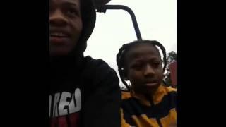 Dredhead & keon gocart riding on christmas