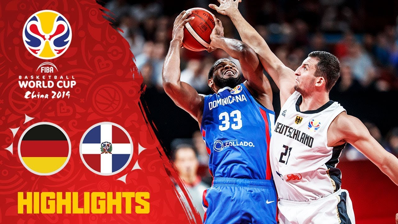 FIBA World Cup: Germany 68-70 Dominican Republic