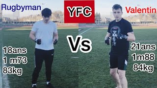 YOUTUBE FIGHT CLUB - COMBAT #3 et 4 : Valentin vs Rugbyman et Giorgi vs Camel
