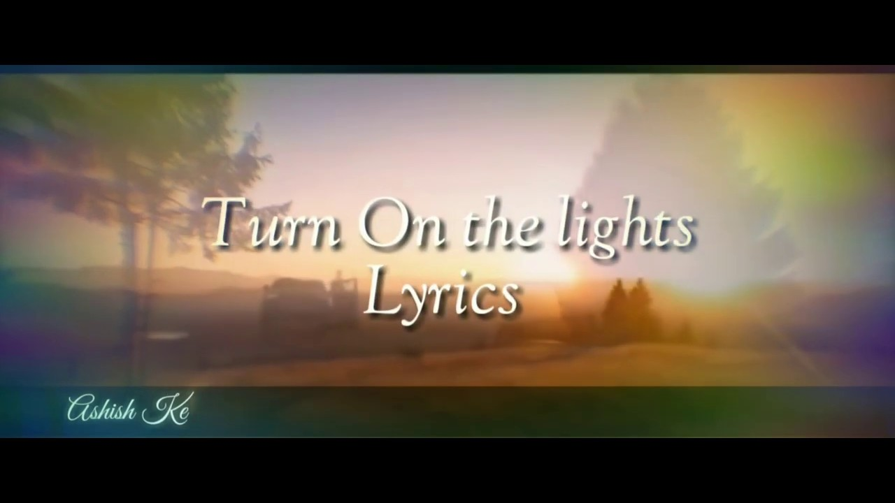 Download Wizkid Ft Lil wayne & Ciara - Turn on the lights Lyric video