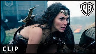 "Wonder Woman - ""Stay Here"" Clip - Warner Bros. UK"