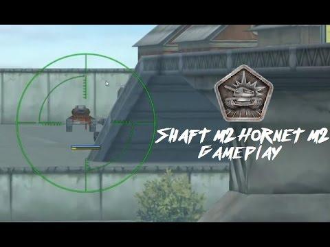 Tanki Online - Shaft M2 Hornet M2 Gameplay