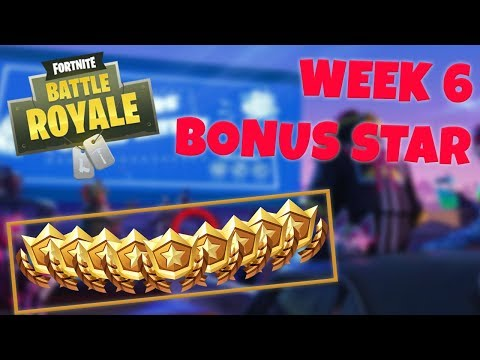 WEEK 6 BONUS STAR LOCATION - SEASON 5 (Fortnite Battle Royale)