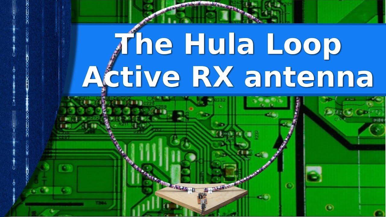 Ham Radio - The Hula Loop active RX antenna