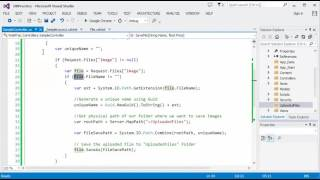 ASP NET MVC - Part 10 (File Uploading with & without AJAX)