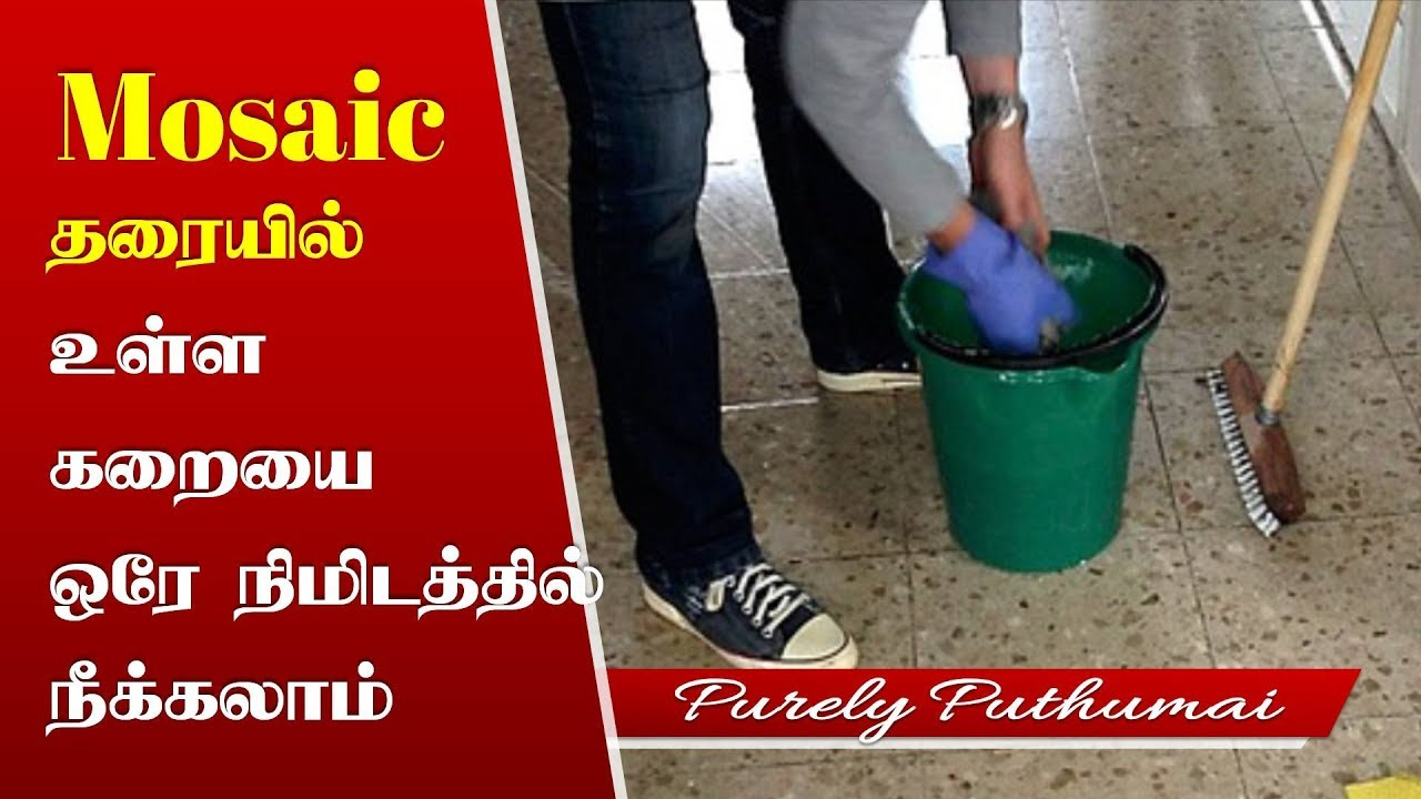 How to clean remove stains from mosaic flooring cleaning how to clean remove stains from mosaic flooring cleaning floors and tiles home tips in tamil dailygadgetfo Choice Image