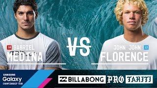2016 Billabong Pro Tahiti: Semifinals, Heat 2