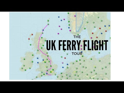X-Plane 11 - UK Ferry Flying: and So the Journey Begins...