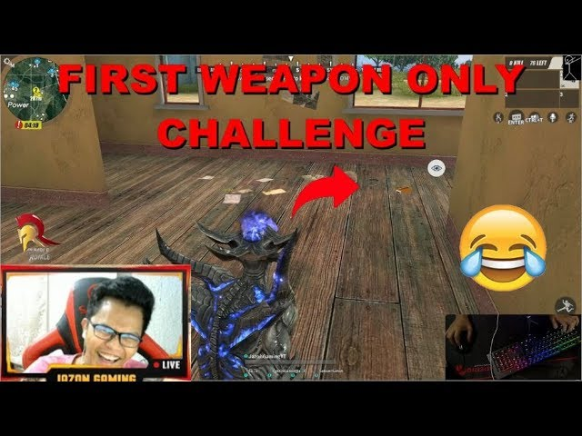 """FIRST WEAPON ONLY CHALLENGE"" (ROS BISAYA)"