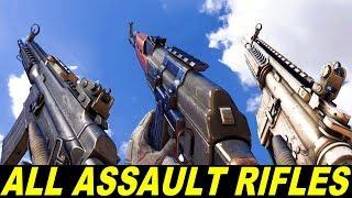 IRONSIGHT - All Assault Rifles - Firing & Reloading In Slow Motion