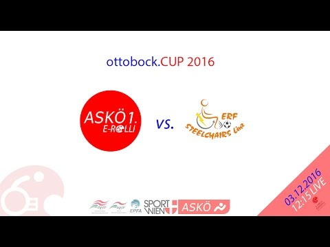 ottobock.CUP2016 CL ASKÖ Wien 1 (AT) vs. Steelchairs Linz (AT)