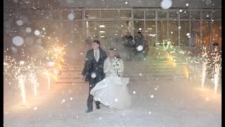 Красивое свадебное слайд шоу