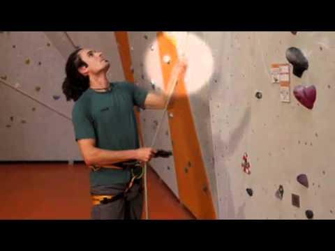 Klettersteigset Test Dav : Dav video sicherung mit dem edelrid zapomat youtube
