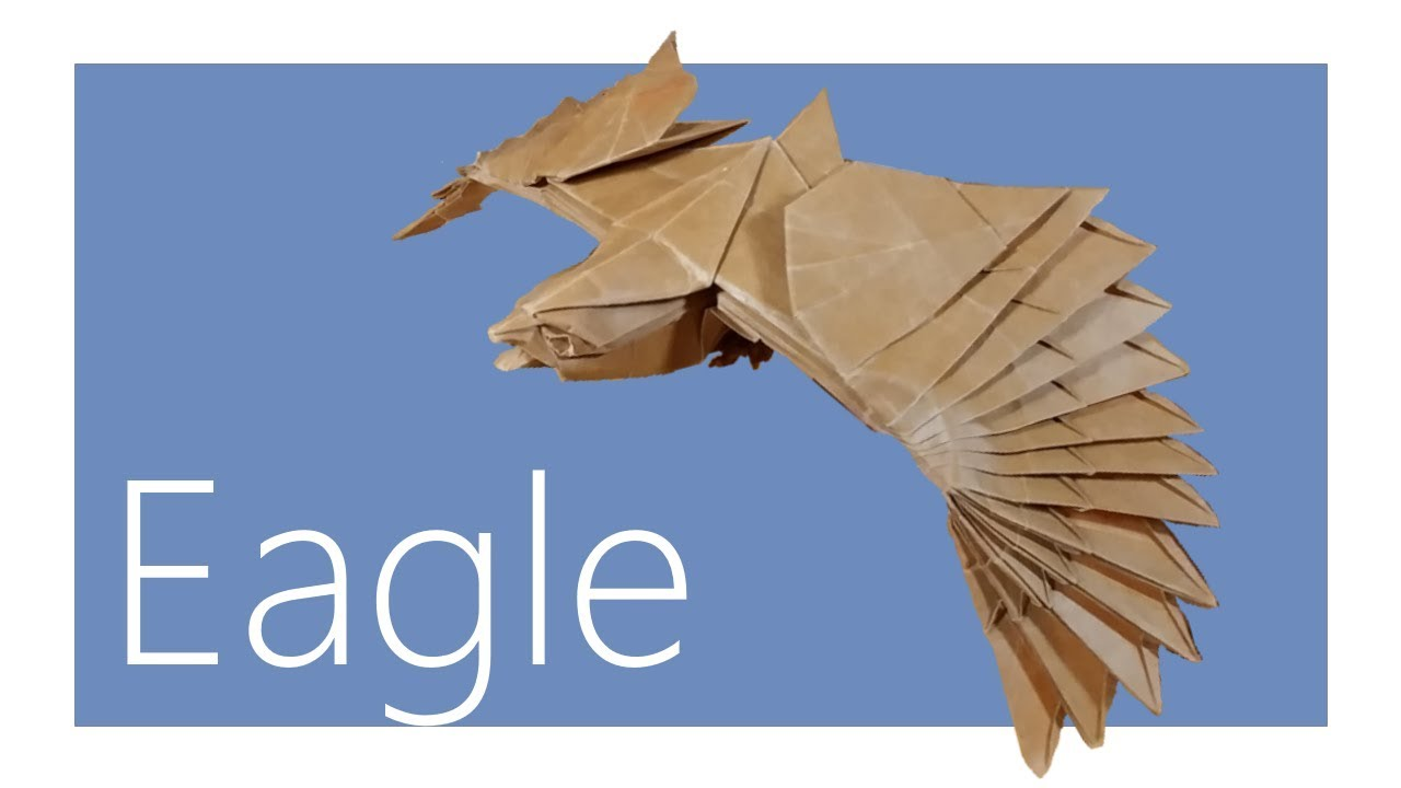 origami eagle instructions diagram 2001 dodge neon wiring tutorial nguyen hung cuong youtube