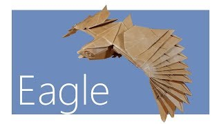 Eagle Origami Tutorial (Nguyen Hung Cuong)