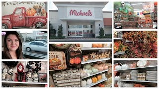 Shop With Me At Michaels   Fall & Halloween Decor